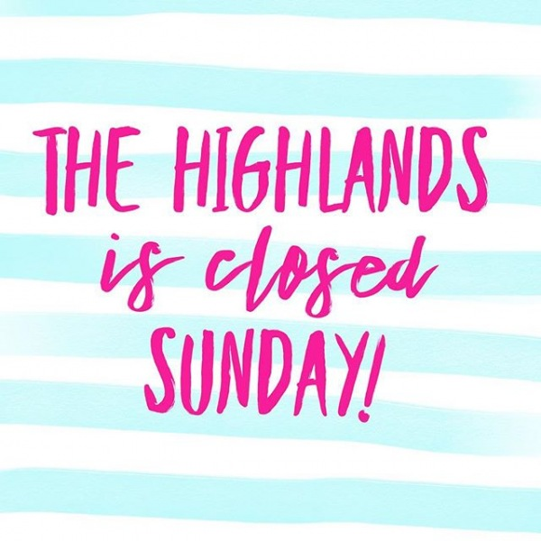 Due to availability we are closed this Sunday! #highlandapartments #pflugerville #lovewhereyoulive #luxuryapartmenthomes #closedsunday